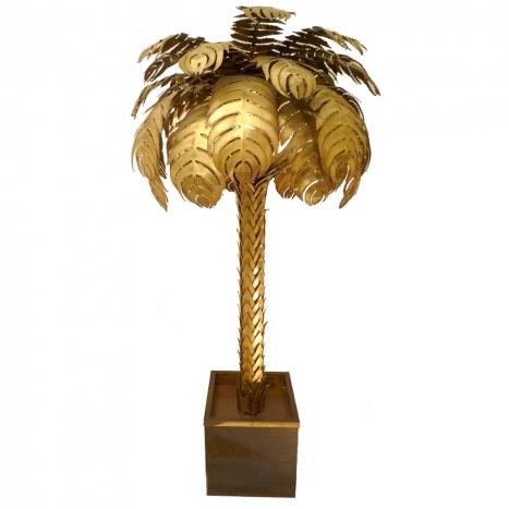 Stephan keller products lighting floor lamps palm floor lamp maison jansen mozeypictures Images