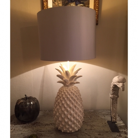 crystal lamps medium lamp pineapple size discontinued table of hurricane vintage waterford